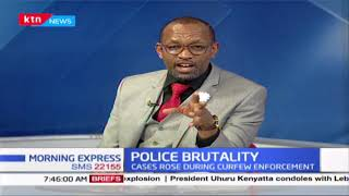Police brutality: Cases rose during curfew enforcement