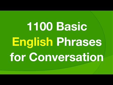 daily conversation sentences in english pdf