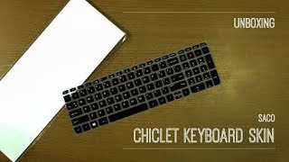 SACO Chiclet Keyboard Skin For Lenovo | UNBOXING | REVIEW | Technical Heater