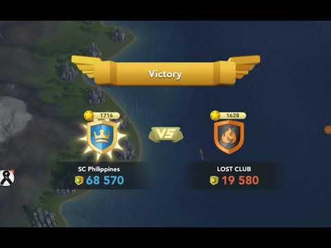 Simcity BuildIt Club War - SC Philippines Club 1 (9th) Victory