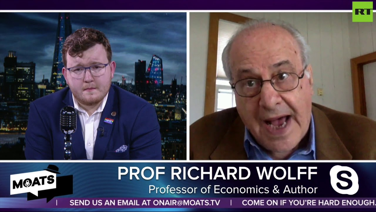 #MOATS: Professor Richard Wolff gives his take on the US election campaign with James Giles