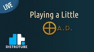 Playing a Little 0 A.D. - DT LIVE