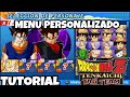 COMO INSTALAR MENÚ EDITADO (DBZ TTT)//How to install Mod Menu for dbz ttt (TUTORIAL)