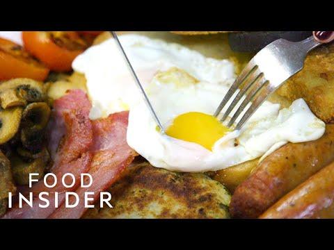 London's Most Authentic Cockney English Breakfast At E. Pellicci |  Legendary Eats