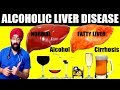 Fatty Liver   Alcoholic LIVER Disease   Cirrhosis   Full Explaination in ENG   Dr.Education