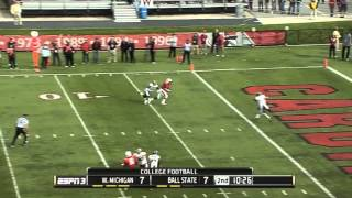 Jordan Williams Ball State 2014 Highlights