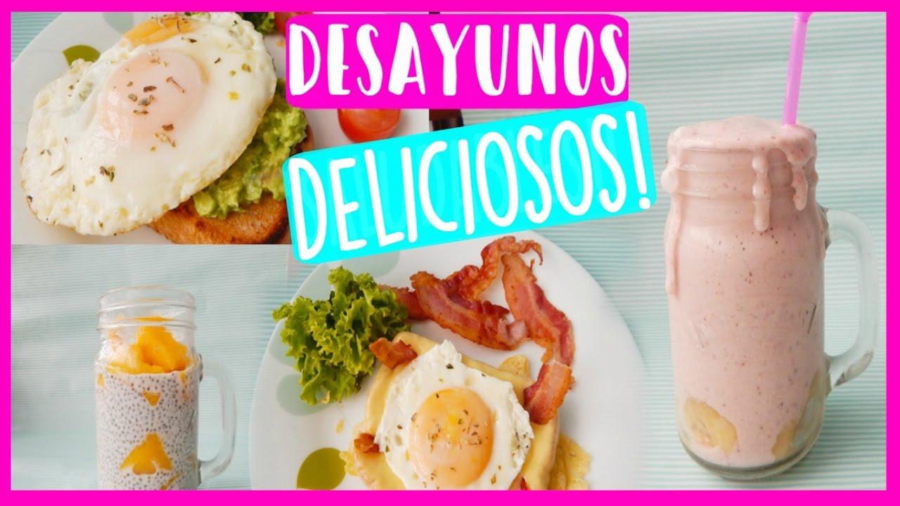 Desayunos Fáciles Y Rápidos De Preparar 35 Ideas De Desayunos Saludables Y Súper Fáciles De Habilitar