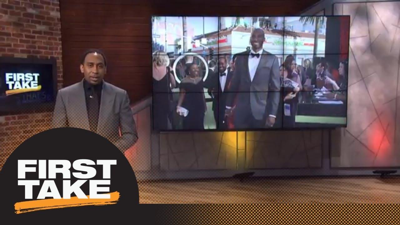 Stephen A.'s heartfelt congratulations to Kobe Bryant on Oscars win | Final Take | First Take | ESPN