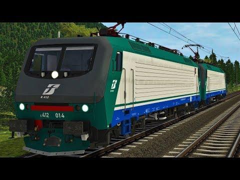 FS E412 RSSLO   Kufstein - Worgl   Brennerbahn / Unterinntalbahn   Train Simulator 2017