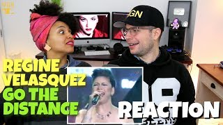 Regine Velasquez - Go The Distance (Best Version) | REACTION