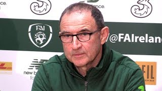 Martin O'Neill Full Pre-Match Press Conference - Republic of Ireland v Northern Ireland