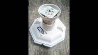 Download Video INVERTER MINI!!! Cara  Menghidupkan Lampu LED 220V AC Dengan Batrai HP 3v DC MP3 3GP MP4