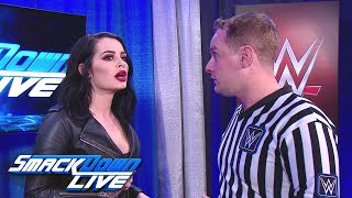 Paige demands answers from a referee: SmackDown LIVE, Dec. 11, 2018