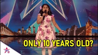 She Is A 10 Year Old Girl..But Her Voice Is.. Beyond Her Years! | Britain's Got Talent 2020