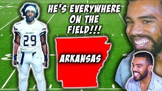 The Best Class of 2020 Football Player In Arkansas?!?- Erwin Williams Highlights [Reaction]