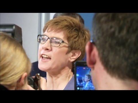 Saarland-Wahl: Klarer CDU-Sieg dämpft Schulz-Hype