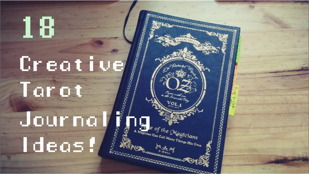 photo relating to Free Printable Tarot Journal named 18 Innovative Tarot Journaling Options!