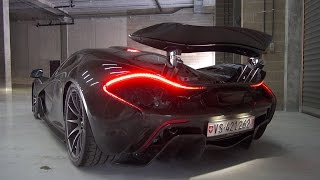 McLaren P1 - Roaring Twin Turbo V8 sounds!