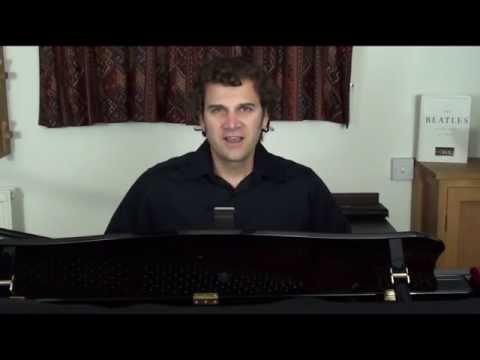 Singing Lesson Sing over the break Alto Range