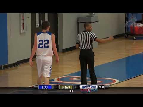 2017 18   Elgin Community College Mens Basketball   ECC vs  Blackhawk College