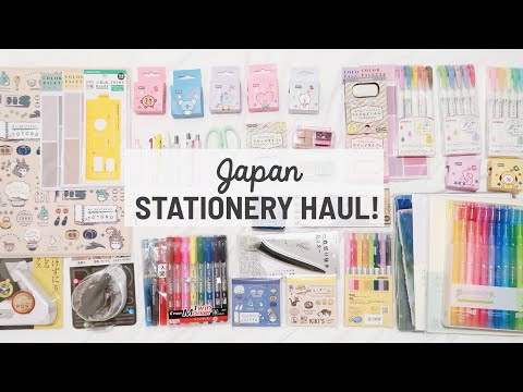 🇯🇵 Huge Japan Stationery Haul 2020! | Maiden Manila