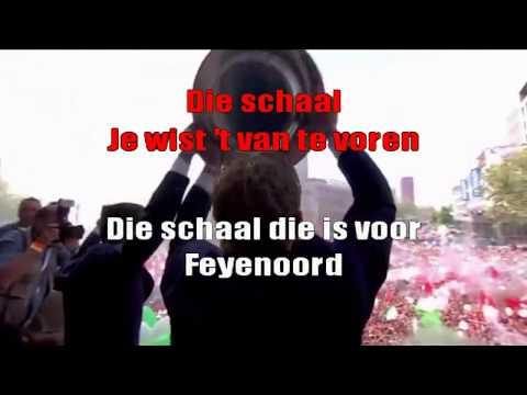 Feyenoord gaat nooit verloren (Karaoke) - Brigitte Kaandorp