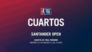 Video Cuartos de Final Femenina Santander Open 2017 | World Padel Tour download MP3, 3GP, MP4, WEBM, AVI, FLV September 2017