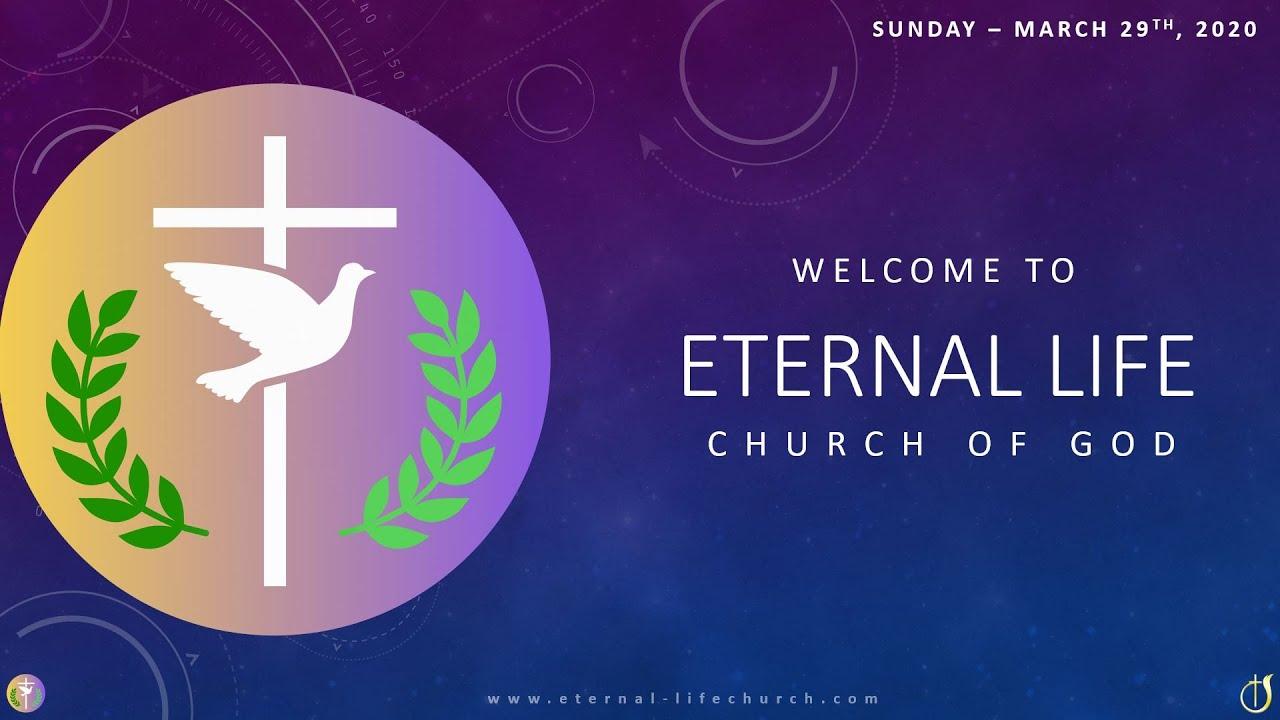 Sunday 2020 03 29 - Worship Service