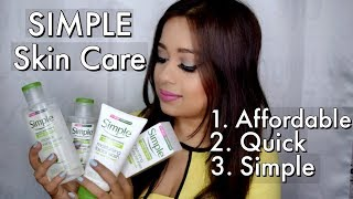 Skin Care Routine | Quick and Affordable Skin Care | Simple Skin Care