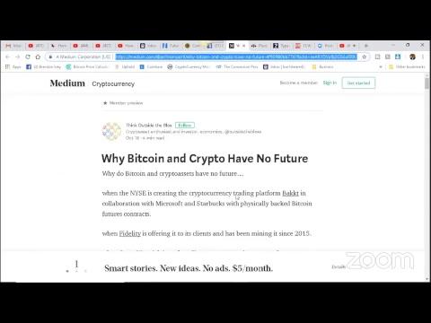 Why Bitcoin and Crypto Have No Future