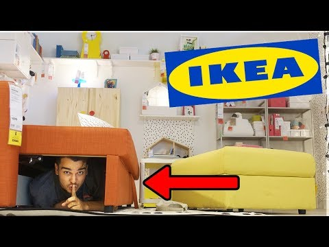 Hide and Seek Inside IKEA! (Best Hiding Spot EVER!)