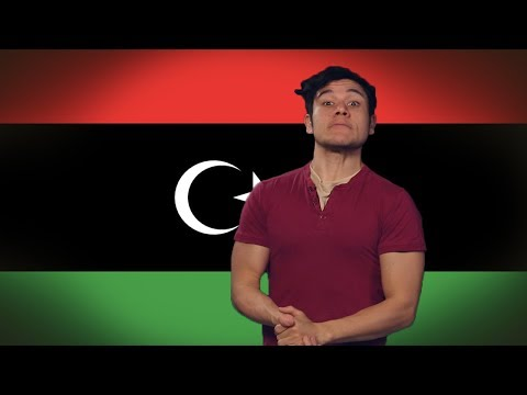Flag/ Fan Friday LIBYA! (Geography Now!)