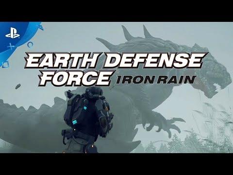 Earth Defense Force: Iron Rain - 2nd Trailer   PS4