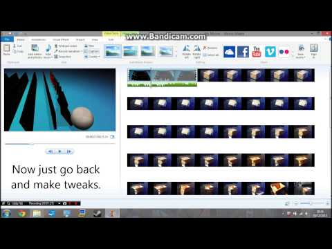 How To Edit Stop Motion Videos On Windows Movie Maker | TheStopMotioners