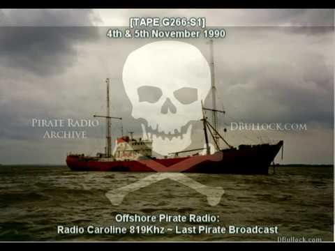 [G266-S1] Radio Caroline 819 ~ 04-05/11/1990 ~ Last Night