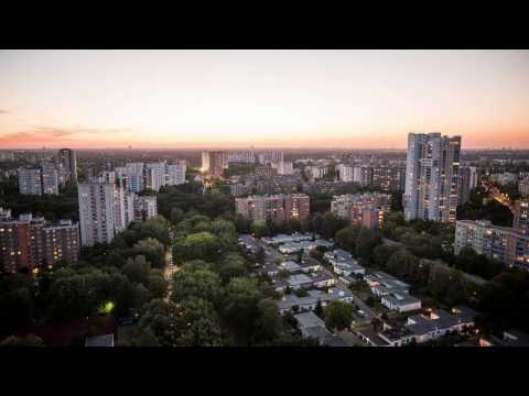 Gropiusstadt - Berlin - Germany - UHD 4K - Timelapse