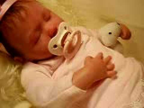 Baby reborn ASHLEY, she´s breathing! Adorable!