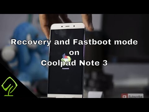 How to Enter Recovery and Fastboot mode on Coolpad Note 3