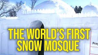 The World's First Snow Masjid
