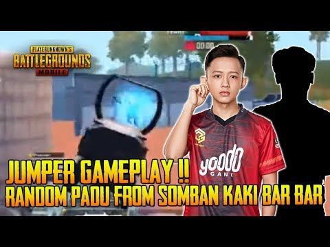 Jumpa Random Padu Kaki Bar-Bar From Somban | Jumper Gameplay | PUBG Mobil