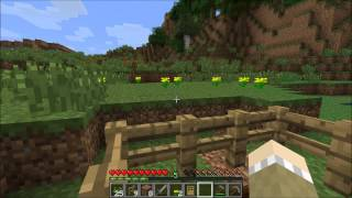 Minecraft for Kids - Tutorial - How to Make a Small Farm Ep 003