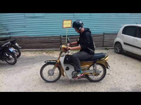 How to learn to drive semi-automatic scooter