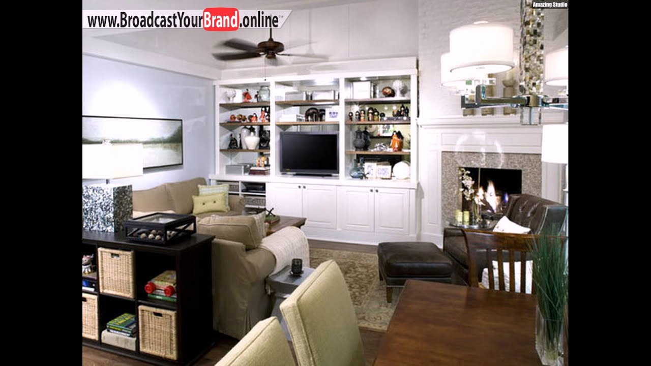 wohnzimmer design ideen offene k che wohnwand youtube. Black Bedroom Furniture Sets. Home Design Ideas