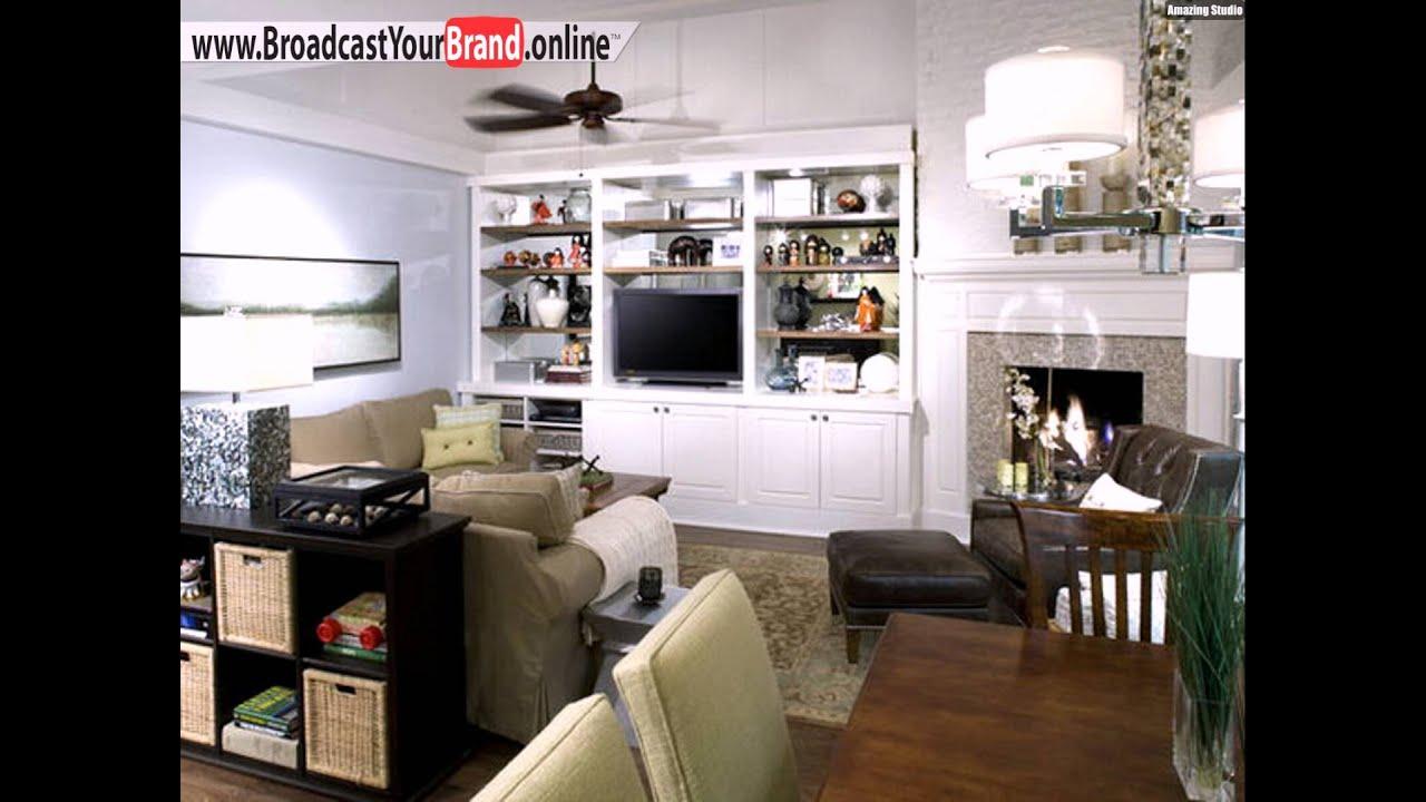 Wohnzimmer Design Ideen Offene Kche Wohnwand  YouTube