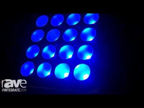 Integrate 2016: Event Lighting Exhibits Its LED Chip on Board PAR Line