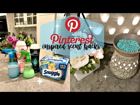 PINTEREST INSPIRED SCENT HACKS // that you seriously have to try!