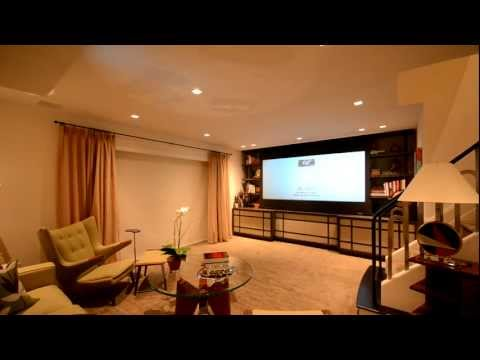 Motorized Projector HD Screen