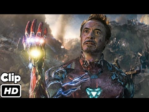 Download Iron Man Snap Scene (Hindi) | Avengers Endgame | Movie Clip HD | 4K | IMAX
