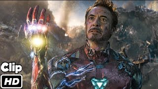 iron Man Snap Scene Hindi  Avengers Endgame  Movie Clip HD  4K  iMAX Thumb
