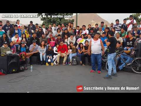 Figurita VS Cholo Victor! Para Morir De Risa! | Comicos Ambulantes | Chabuca Granda